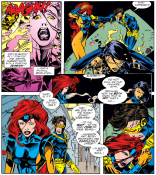It's gonna get retconned away again soon, but, there you go! (X-Men Annual #2)